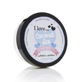 I Love Cosmetics Vyživující tělové máslo s vůní kokosu (Coconut Ice Body Butter) 200 ml