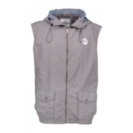 AQUA PRODUCTS Aqua Vesta High Neck Grey Gilet Hooded L