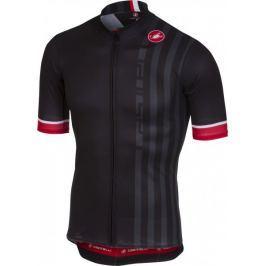 Castelli Podio Doppio Jersey FZ Black L