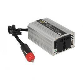 WHITENERGY Měnič napětí do auta 12/230 V, 200 W s USB