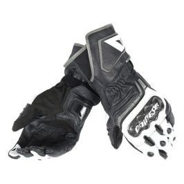 Dainese rukavice CARBON D1 LONG vel.S černá/bílá/antracit, kůže (pár)