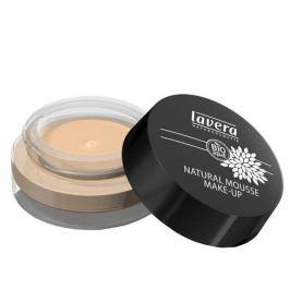 Lavera Přírodní pěnový make-up (Natural Mousse Make-up) 15 g (Odstín 03 med)