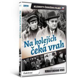 Na kolejích čeká vrah   - edice KLENOTY ČESKÉHO FILMU (remasterovaná verze) - DVD