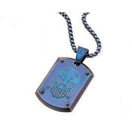 Police Modrý pánský náhrdelník Prowler PJ25607PSEBL-S