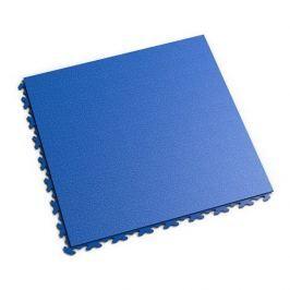 Fortelock Modrá vinylová zátěžová dlaždice Invisible 2030 (hadí kůže) - 46,8 x 46,8 x 0,67 cm