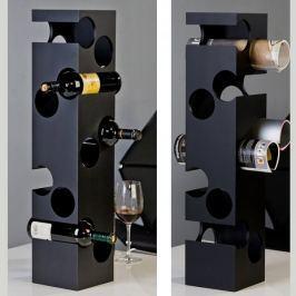 Papillon Stojan na víno Corner, 76 cm černá