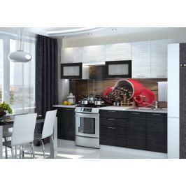 Kuchyně VALERIA 200/260, black stripe