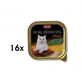 Animonda Vom Feinstein cat krůta + králík 16 x 100g
