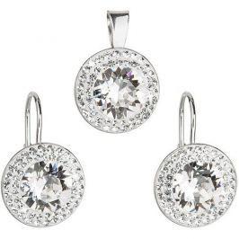 Evolution Group Sada á la Kate Middleton 39107.1 krystal stříbro 925/1000