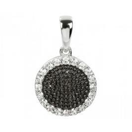 Silver Cat Stříbrný přívěsek s krystaly SC143 stříbro 925/1000