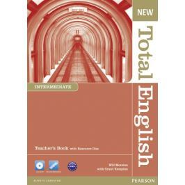 Moreton Will: New Total English Intermediate Teacher´s Book and Teacher´s Resource CD Pack