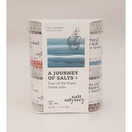 Dárková sada 4 druhů prémiových řeckých solí
