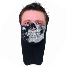 Held nákrčník s maskou SKULL vel.L černý s motivem