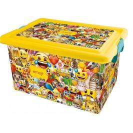 Kis Plastový box Emoji, 13 l
