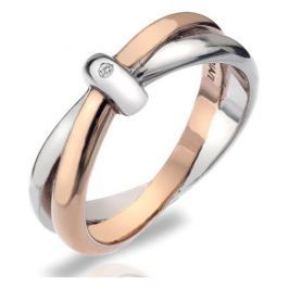 Hot Diamonds Prsten Eternity Interlocking DR112 (Obvod 57 mm) stříbro 925/1000