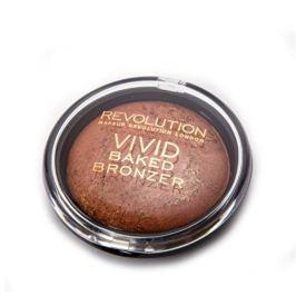Makeup Revolution Zapečený bronzer (London Vivid Baked Bronzer) 13 g (Odstín Fame)