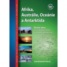Školní atlas/Afrika, Austrálie,Oceánie a Antarktida