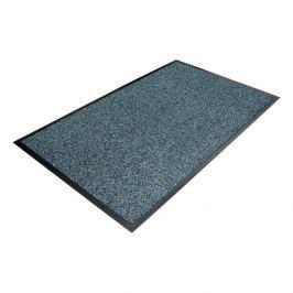 Modrá textilní čistící vnitřní vstupní rohož - 150 x 90 x 1 cm