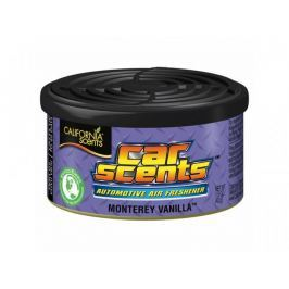 California Scents Vůně do auta Car Scents - Monterey Vanilla (vanilka), sladká vůně, výdrž 2 měsíce