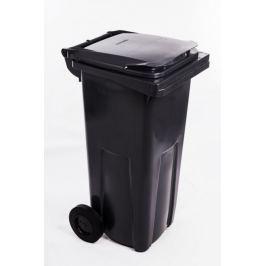 J.A.D. TOOLS popelnice černá (tmavě šedá) plastová 120 l