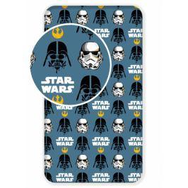 Jerry Fabrics Bavlněné prostěradlo Star Wars 2017 90x200 cm