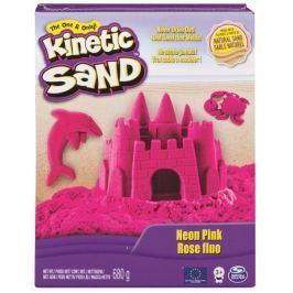 Kinetic Sand Neonové barvy růžová 680 g