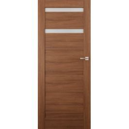 VASCO DOORS Interiérové dveře EVORA kombinované, model 2, Kaštan, A