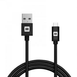 MAX MUC2200B kabel micro USB 2.0 opletený 2m, černá