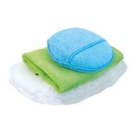 KAJA Sada na mytí auta, 3 ks: 1 x utěrka mikrovlákno, 1 x houbička mikrovlákno, 1 x mycí rukavice