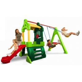 Little Tikes Hrací centrum Clubhouse Swing Set Natural - II. jakost