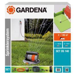 Gardena Výsuvný čtyřplošný zadešťovač OS 140 (8220)