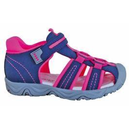 Protetika Dívčí sandály Art 29 modro-růžové