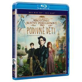 Sirotčinec slečny Peregrinové pro podivné děti  2D+3D (2 disky)   - Blu-ray