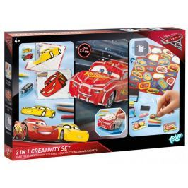 Kreativní sada 3 v 1 Cars 3
