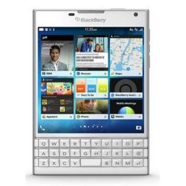 BlackBerry Passport QWERTY, bílá - II. jakost