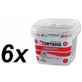 Ontario Snack Cheese Bits 6 x 75 g