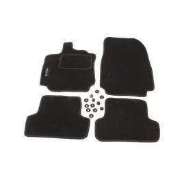 MAMMOOTH Koberce textilní, Renault Clio IV od r. 2012, černé, sada 4 ks