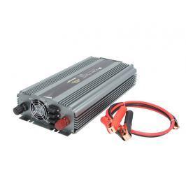 WHITENERGY Měnič napětí do auta DC 24V-AC 230V, 2000W s USB