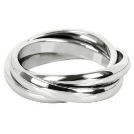 Troli Trojitý ocelový prsten KRS-247 (Obvod 54 mm)