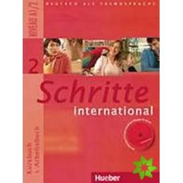 Schritte international 2: paket učebnice + pracovní sešit vč. CD + slovníček CZ