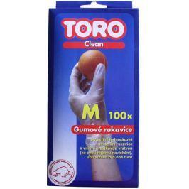 Toro Gumové rukavice M 100 ks