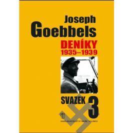 Goebbels Joseph: Deníky 1935-1939 - svazek 3