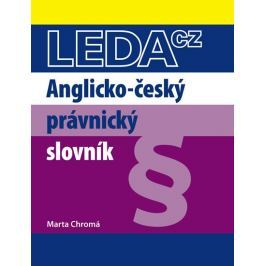 Chromá Marta: Anglicko-český právnický slovník