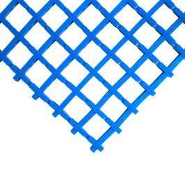 Modrá olejivzdorná protiskluzová průmyslová univerzální rohož - 1000 x 60 x 1,2 cm