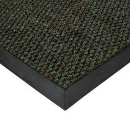 FLOMAT Zelená textilní zátěžová vstupní čistící rohož Fiona - 60 x 80 x 1,1 cm
