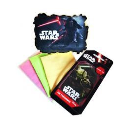 KAJA Dárkový set, sada do auta, 5 ks, motiv Star Wars, houba Kylo Ren, vůně Zelený čaj
