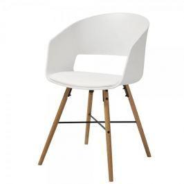 Danish Style Jídelní židle Nadja (SET 2 ks), bílá