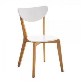 BHM Germany Jídelní židle Emir, dřevo/bílá