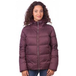 Geox dámská péřová bunda S fialová