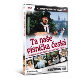 Ta naše písnička česká  - edice KLENOTY ČESKÉHO FILMU (remasterovaná verze) - DVD